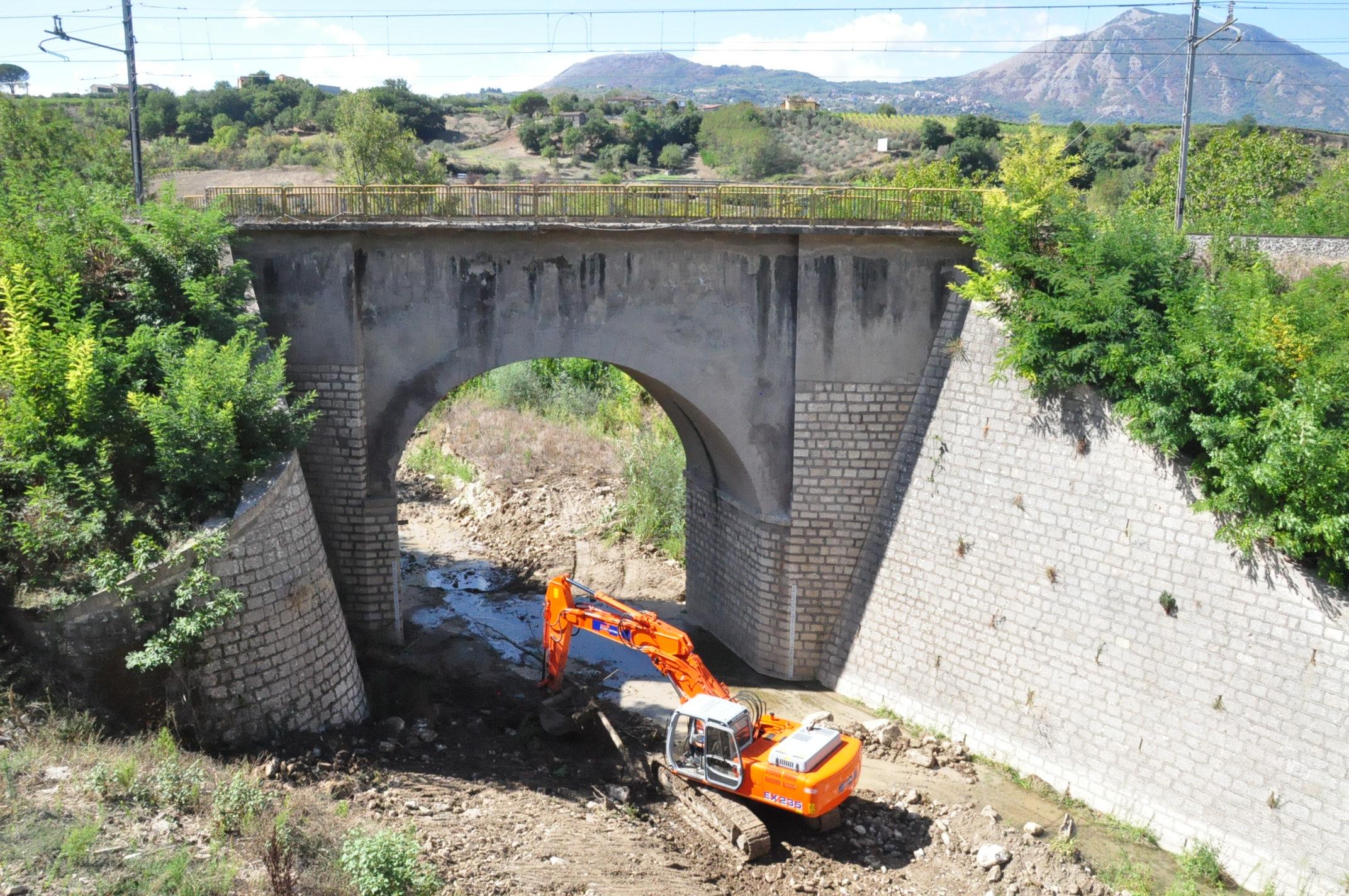 Riaperta nei due sensi di marcia la provinciale 106 al ponte Raventa