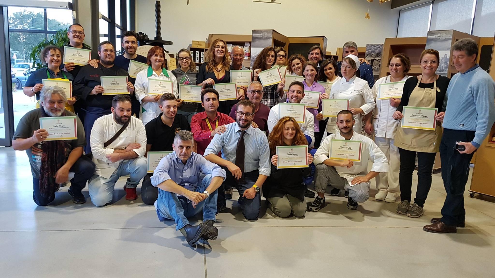 Secondo Corso Agrichef, ecco i nuovi 24 cuochi contadini della Campania