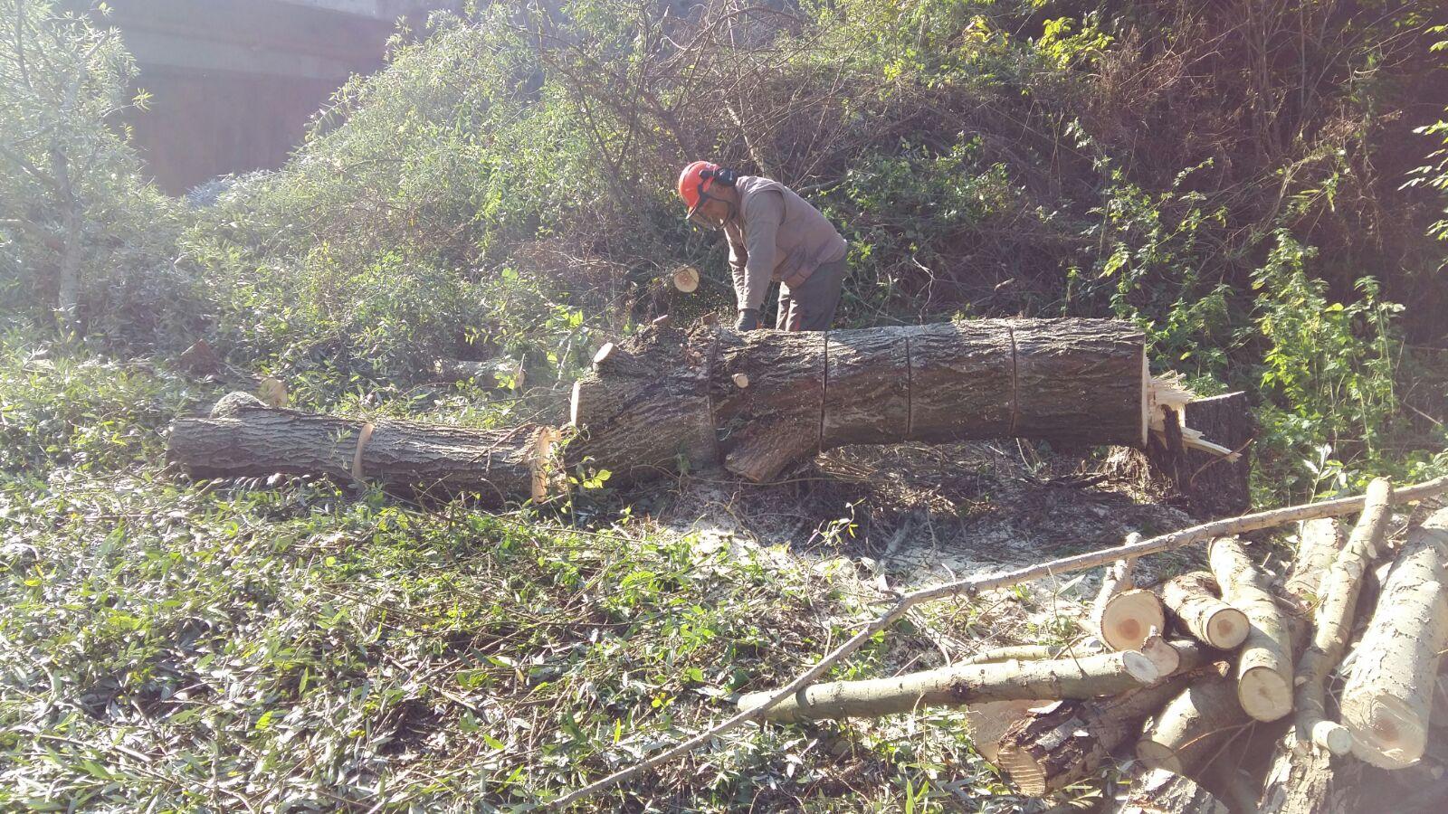Interventi di messa in sicurezza sul fiume Sabato di Benevento