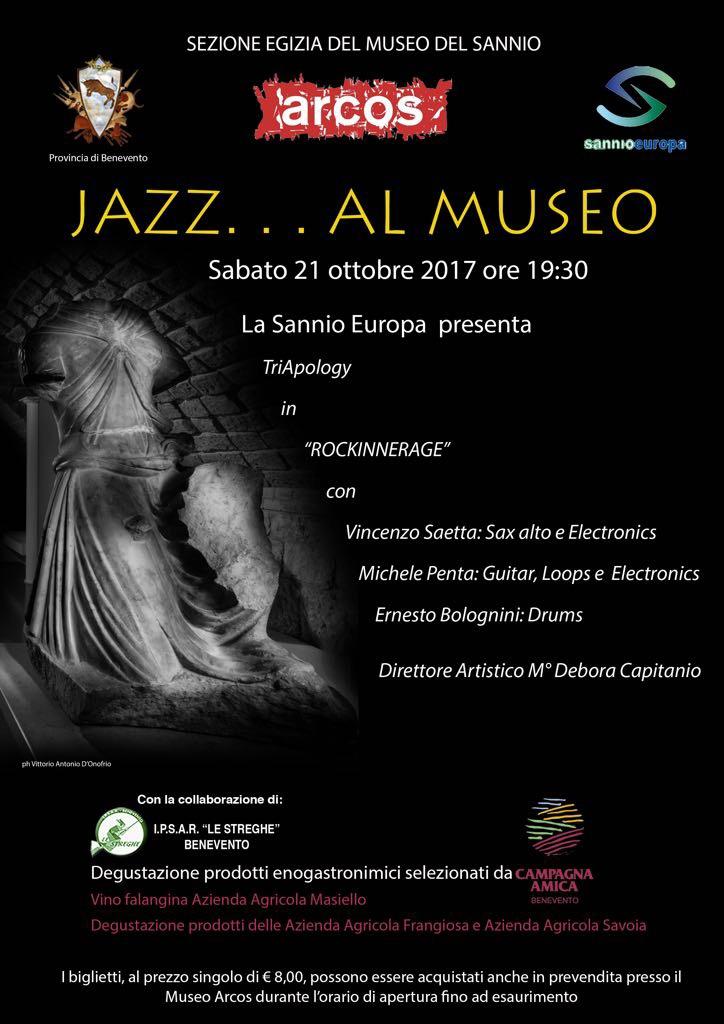 Torna l'appuntamento con 'Jazz al Museo' Arcos di Benevento