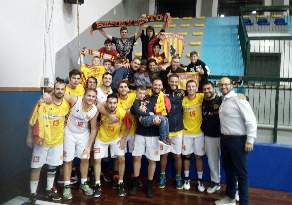 Miwa Energia Benevento, quarta vittoria consecutiva contro il Cab Solofra.