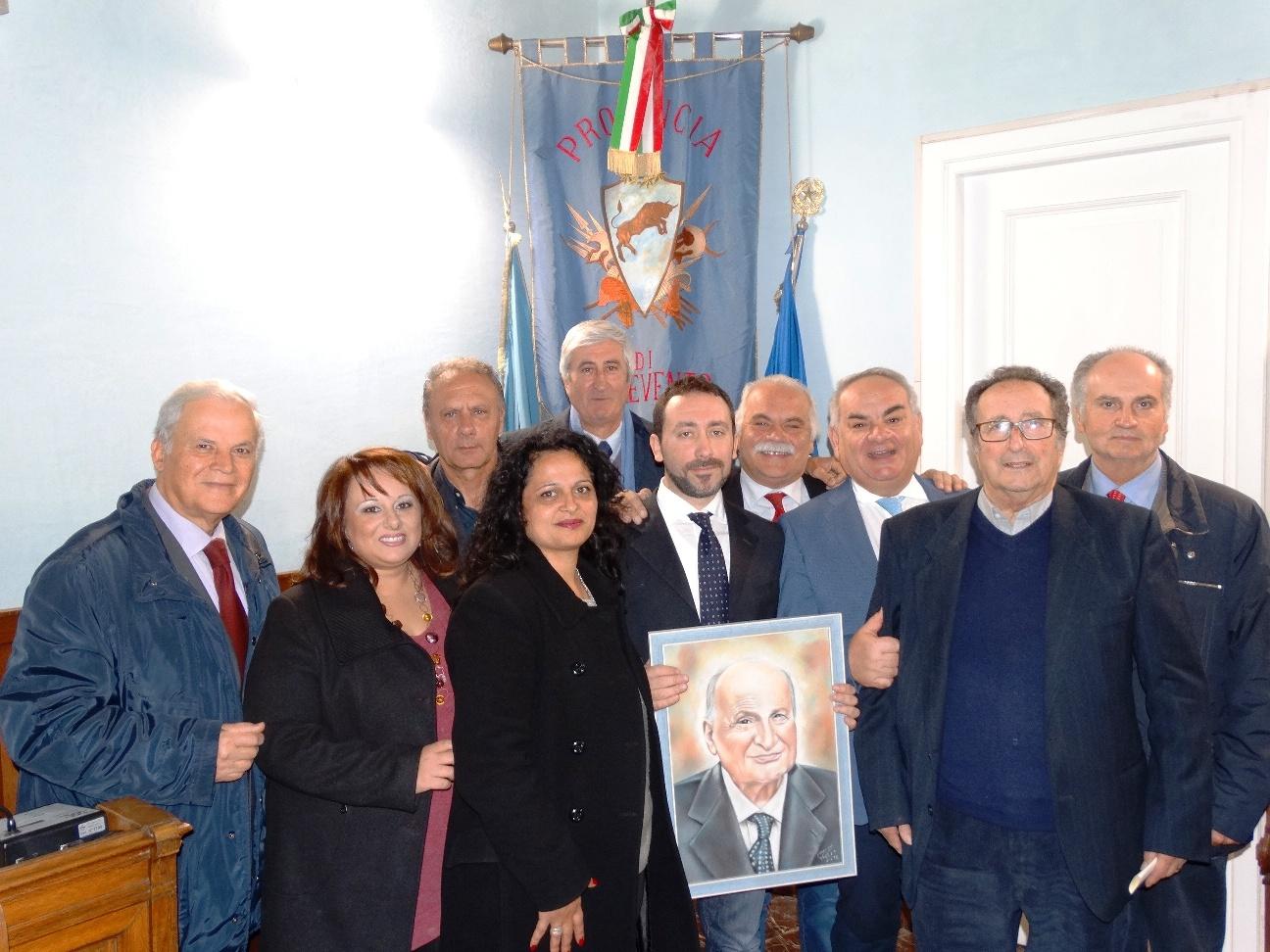 La Provincia e gli Amministratori di Apice commemorano Luigi Bocchino