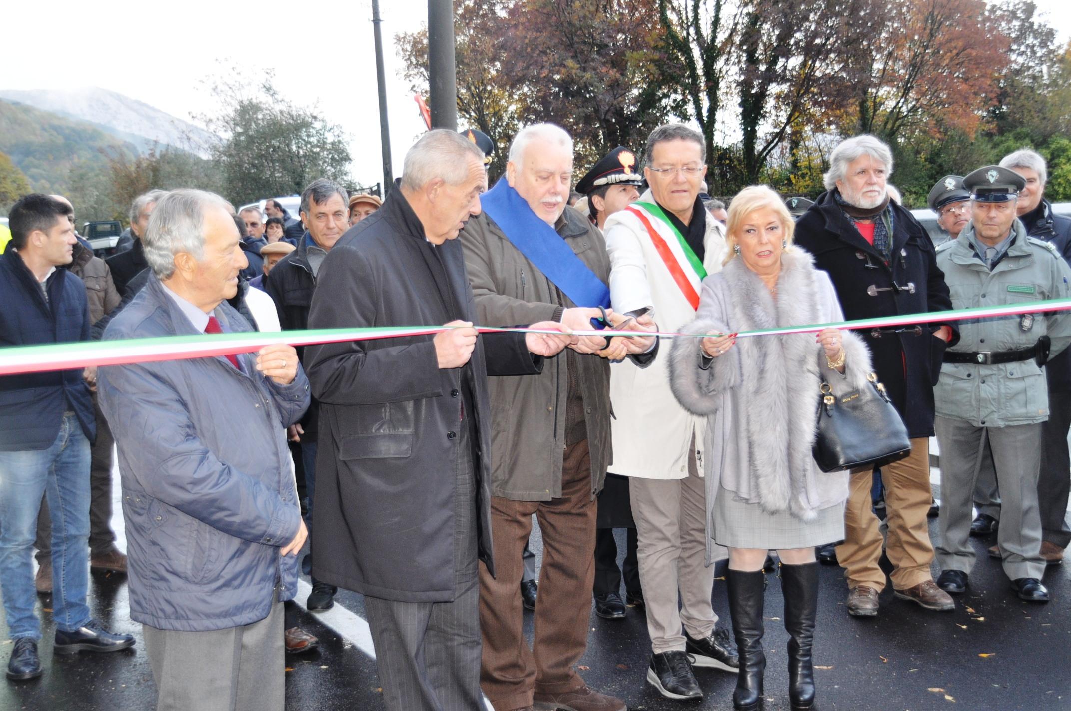 Inaugurato il ponte sul torrente Jenga, grande opera frutto di sinergia istituzionale