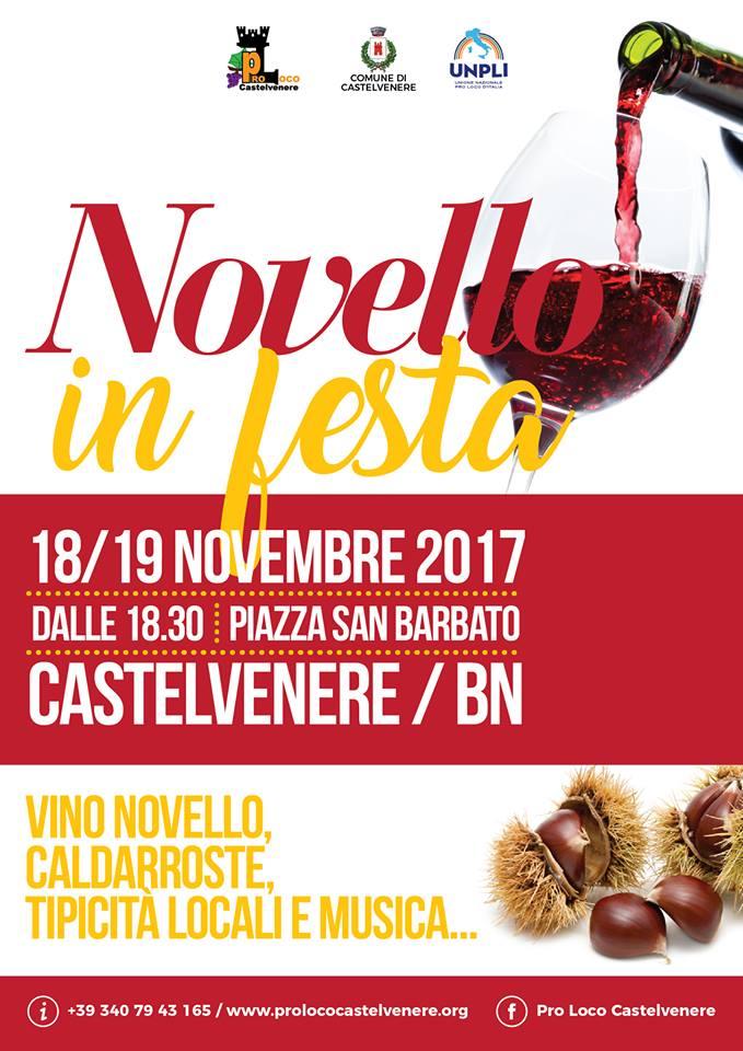 Castelvenere, week end di festa in onore del vino novello