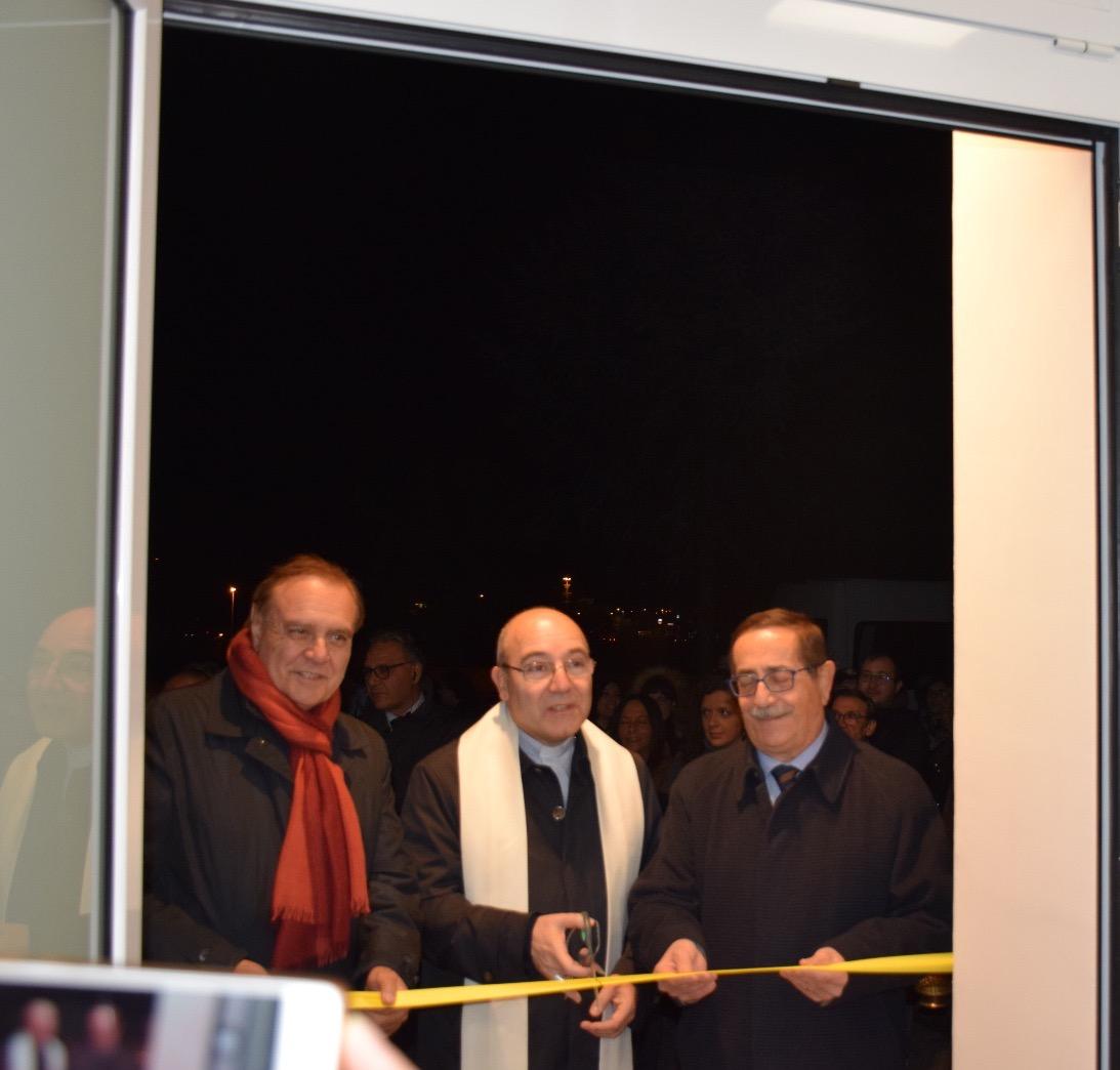 Benevento, inaugurata la nuova Sala Medica della Caritas