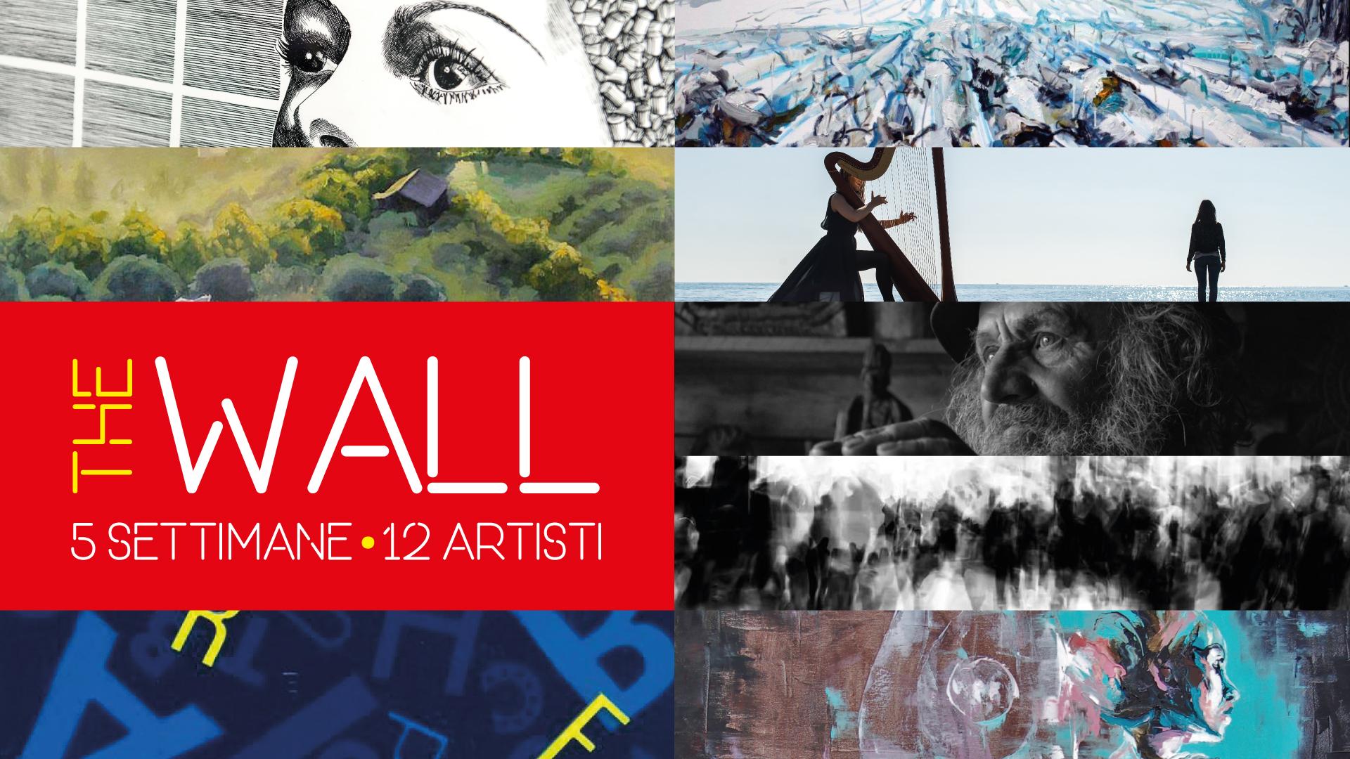 Pietrelcina, al via la mostra 'The Wall' con artisti italiani ed europei