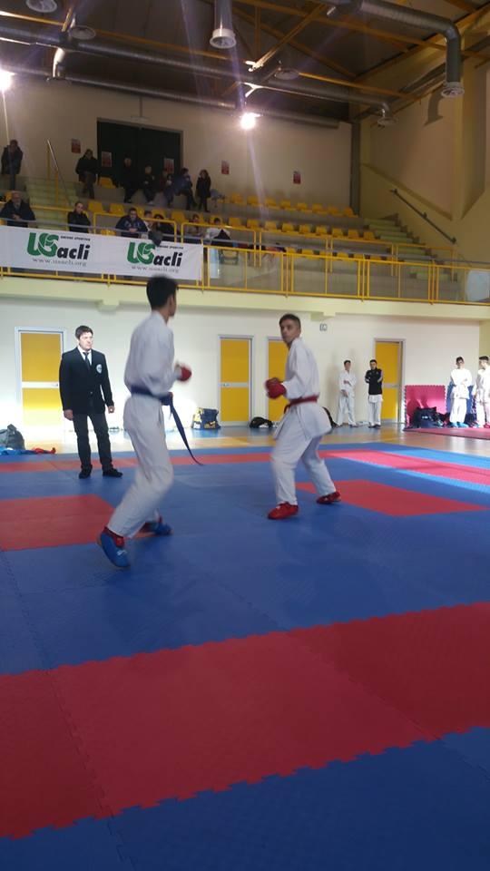 Si è disputato a Bucciano il campionato provinciale di karate e kumitè