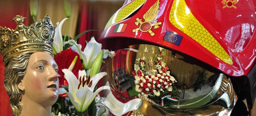 I Vigili del Fuoco festeggiano domani la patrona Santa Barbara