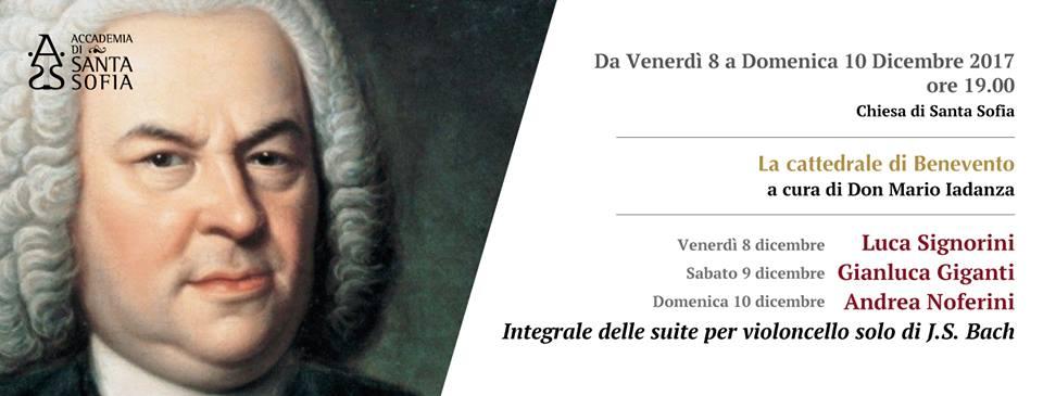 """""""Santa Sofia in Santa Sofia"""": tre solisti d'eccezione per l'integrale delle suite per violoncello solo di Bach"""