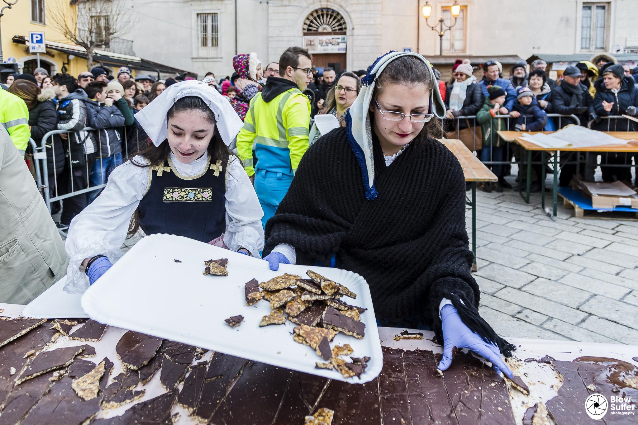 La Festa del Torrone di San Marco ha chiuso la XVII edizione con la promessa della Scuola di Pasticceria