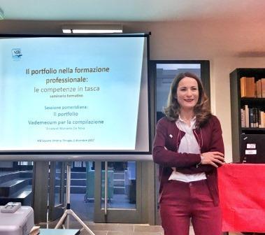 Manuela De Noia membro dell'Osservatorio Formazione dell'Associazione Italiana Biblioteche
