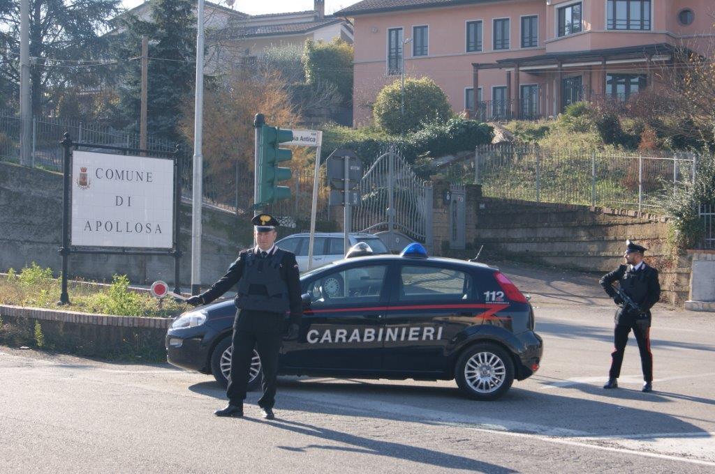 Montesarchio, eseguiti dai Carabinieri controlli mirati sul territorio