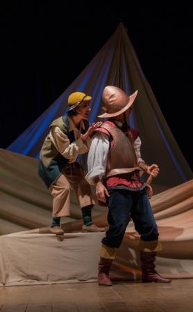 Da domani, per la rassegna dedicata alle scuole, in scena al De Simone di Benevento 'Don Chisciotte e Sancio Panza'