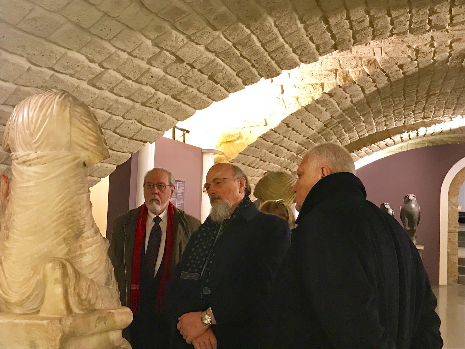 Il vicepresidente della Rai in visita ai musei della Provincia