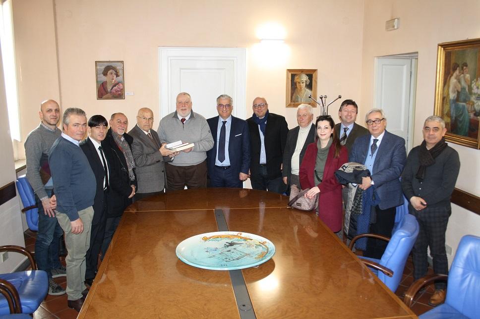 Ricci ha incontrato gli amministratori del Banco di Credito Cooperativo di San Marco dei Cavoti e Calvi