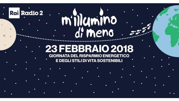 M'illumino di Meno 2018, Fare Verde Campania aderisce all'iniziativa del 23 febbraio prossimo