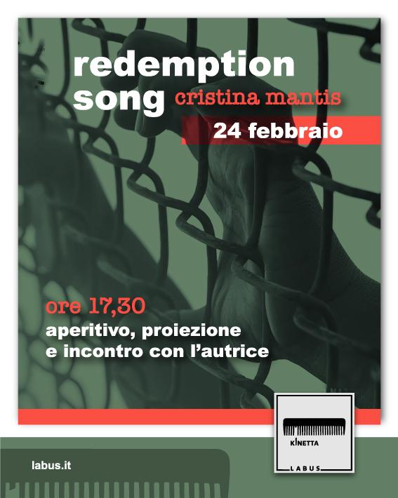 Incontro con la regista Cristina Mantis e proiezione del film Redemption Song presso l'associazione Kinetik di Benevento