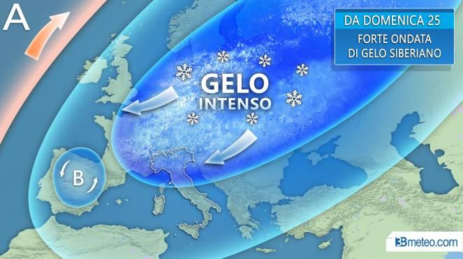 Neve e freddo, da domani sull'Italia perturbazione siberiana. I consigli del Ministero dell'Interno