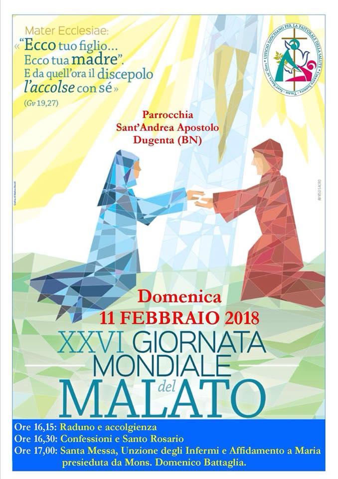 Giornata del Malato 2018, nella diocesi di Dugenta domani le celebrazioni