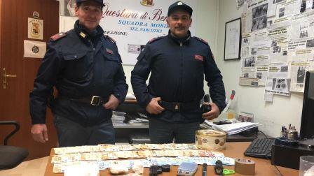 Pago Veiano: ingente quantitativo di cocaina sequestrato dalla Polizia