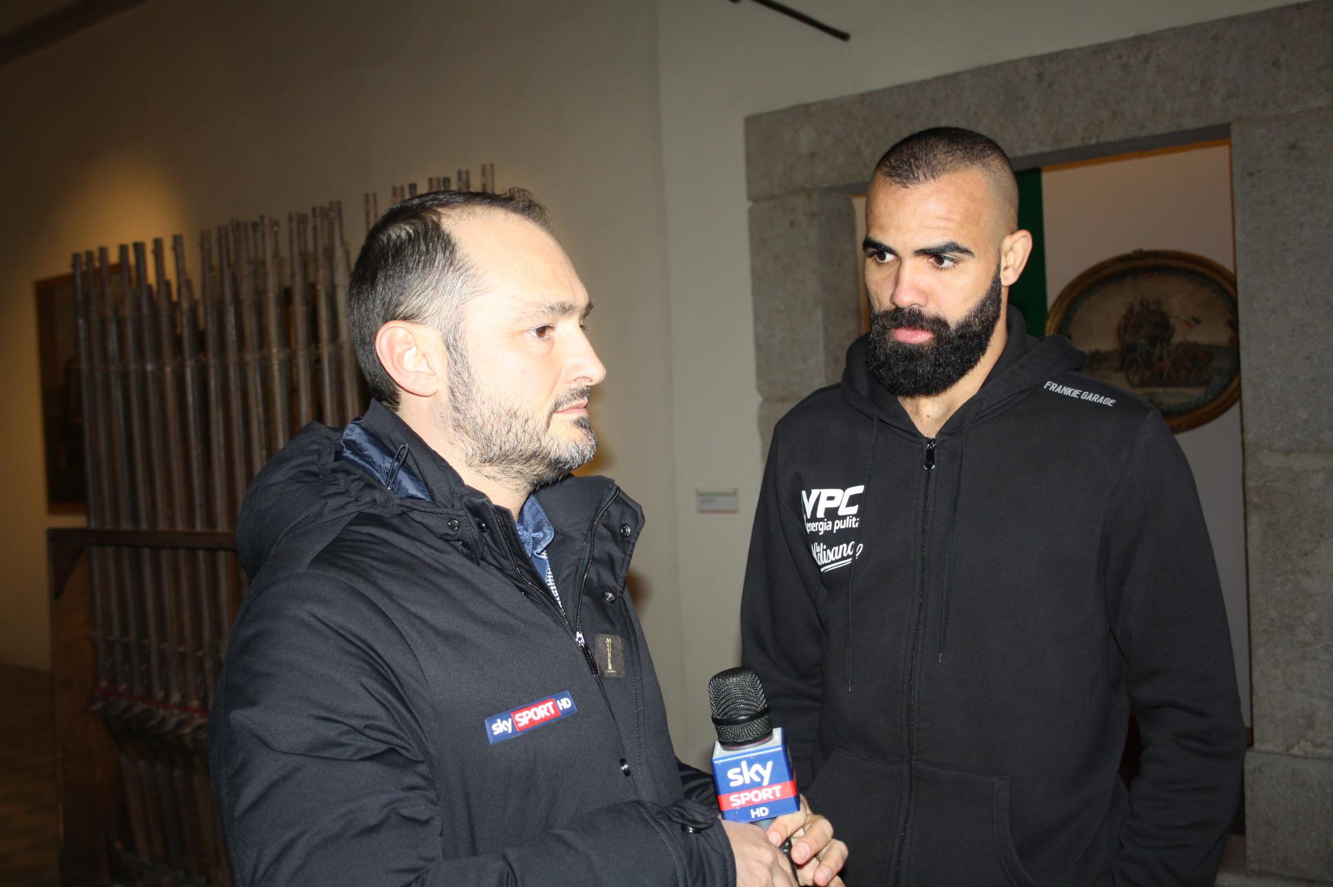 Le telecamere di Sky sport sulla Rocca dei Rettori e ad Arcos per una diretta dedicata al Benevento Calcio
