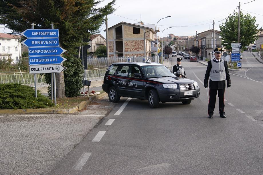 Colle Sannita, 22enne in manette per rapina in Romania