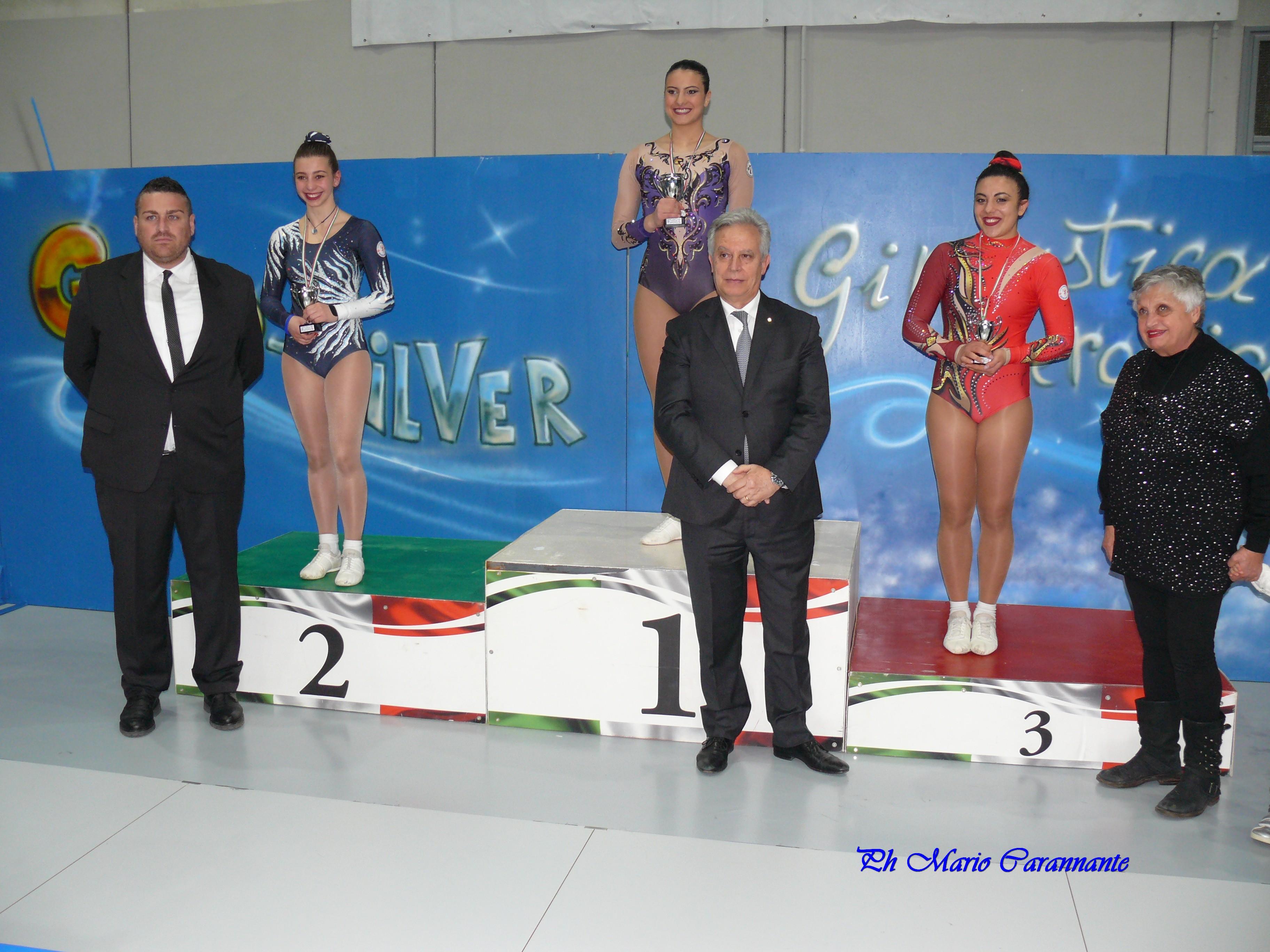 Ginnastica, la Gold Benevento sul podio regionale