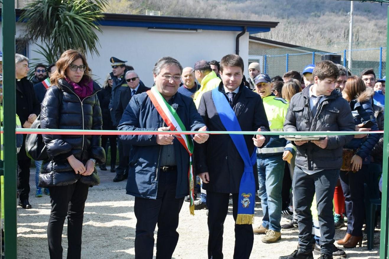 Durazzano, inaugurato il campetto 'Don Peppino Diana'