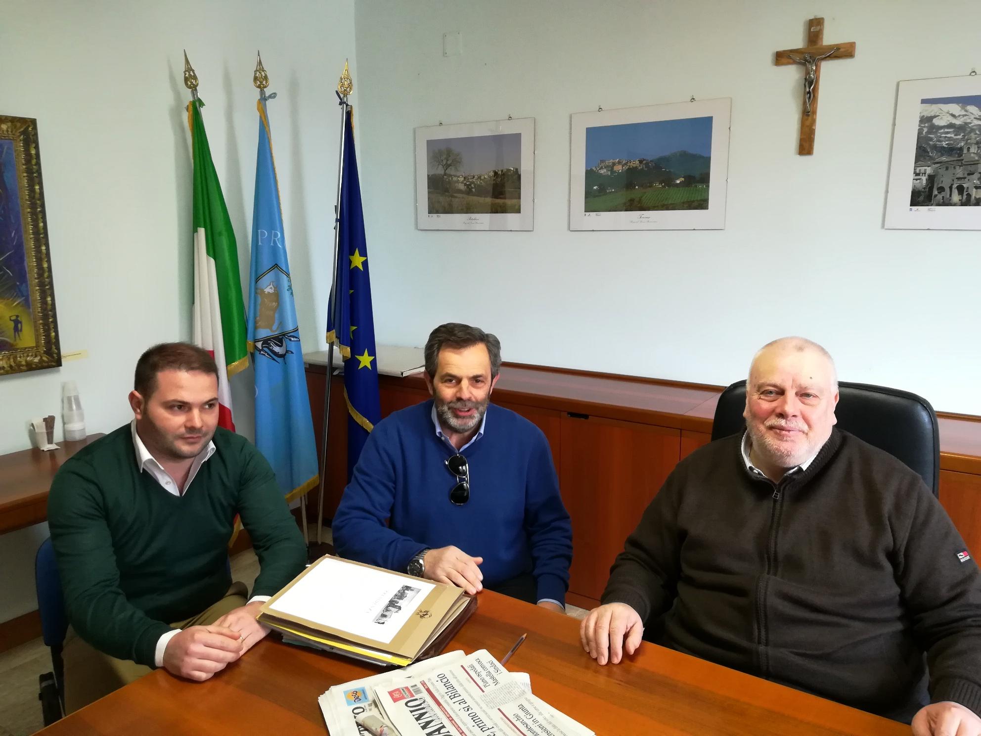 Fondo Valle Isclero, Ricci si confronta con il sindaco di Dugenta