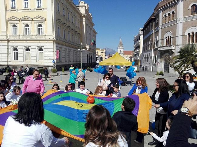 La F.A.B.A. a Benevento per la Giornata Internazionale della Consapevolezza sull'Autismo