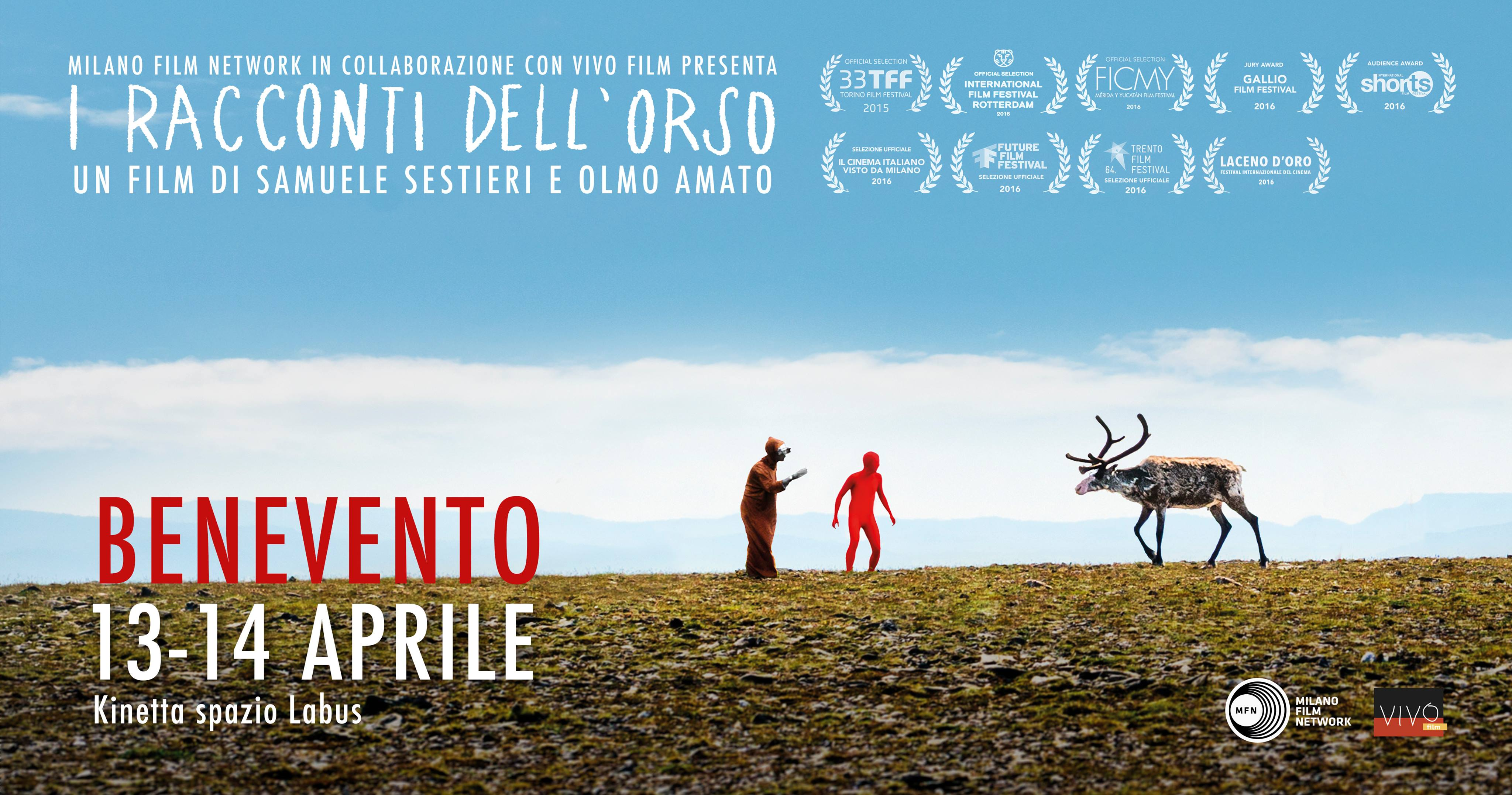 Proiezione de 'I racconti dell'orso' e incontro con i registi nello Spazio Labus di Benevento