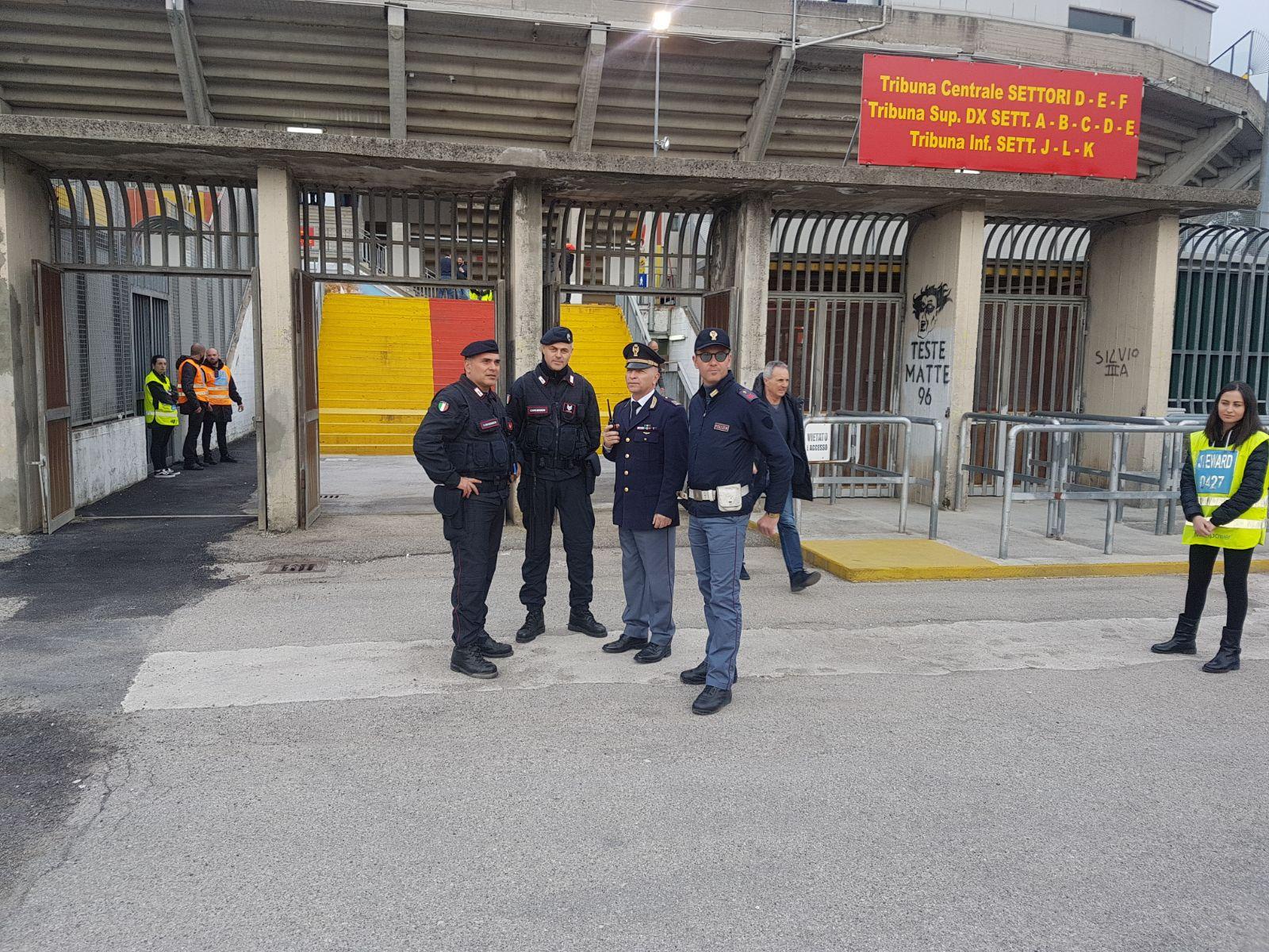 Benevento-Verona: identificato e daspato anche il terzo aggressore