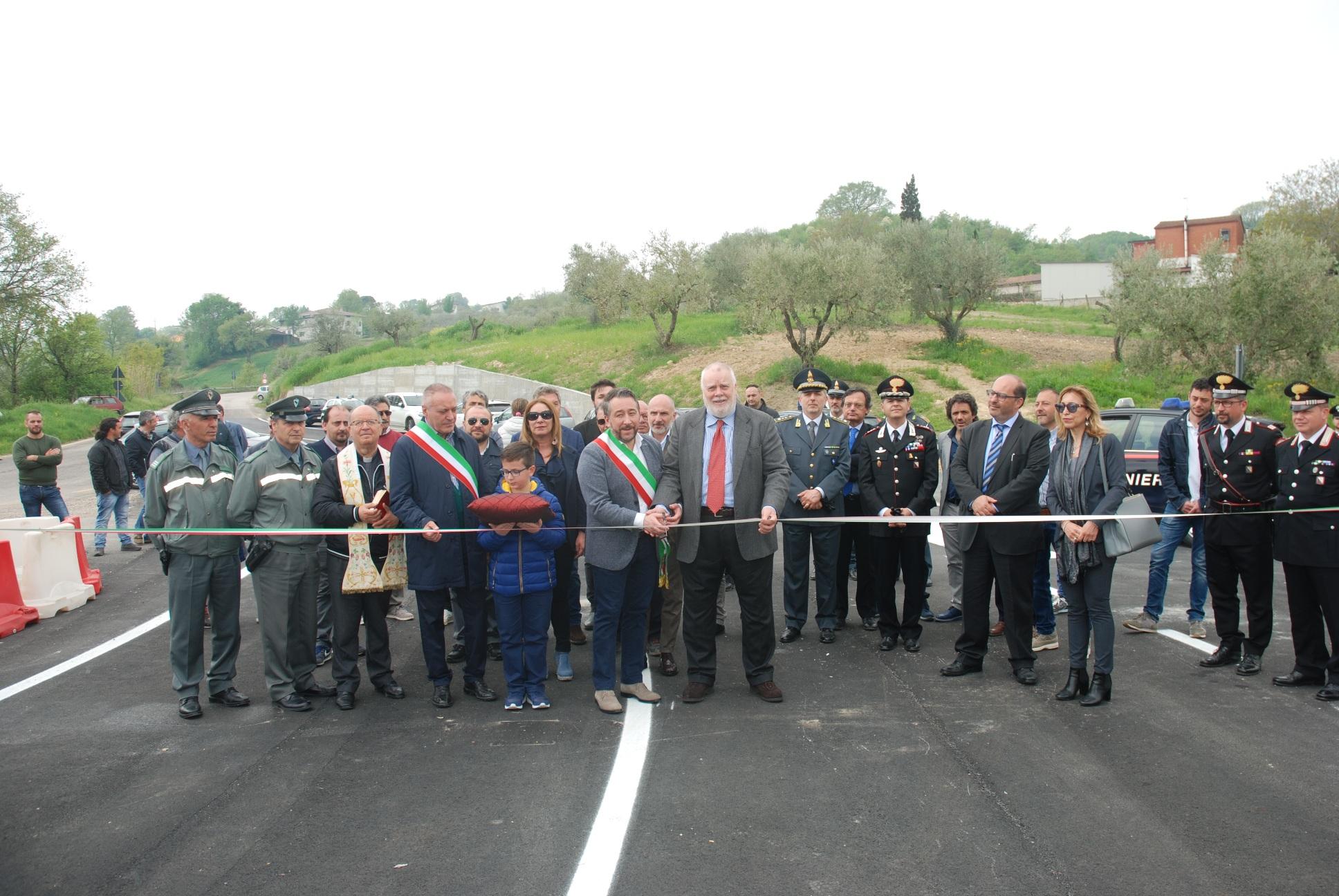 Circello, inaugurato il ponte sul Tammarecchia