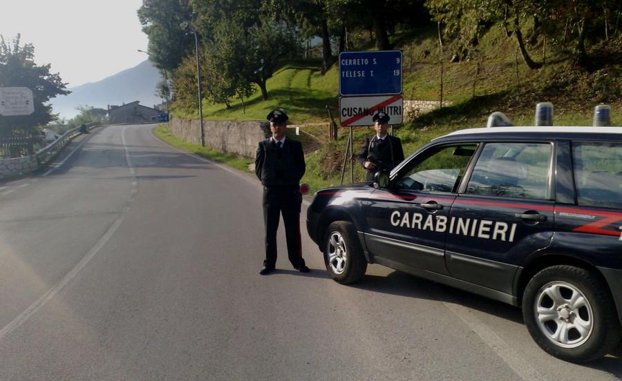Causano Mutri, in manette 29 della provincia di Campobasso per detenzione di armi