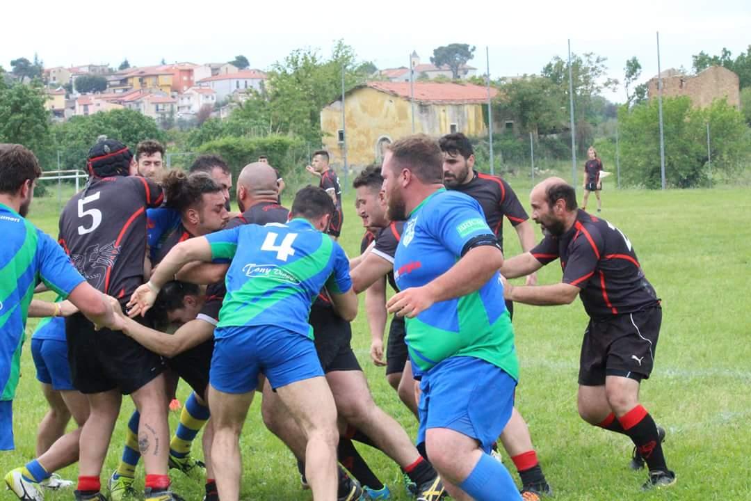Rugby, vittoria dei Dragoni Sanniti sul IV Circolo e Serie C1 anche per la prossima stagione