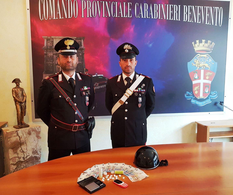 Benevento, arrestato 50enne per spaccio di droga
