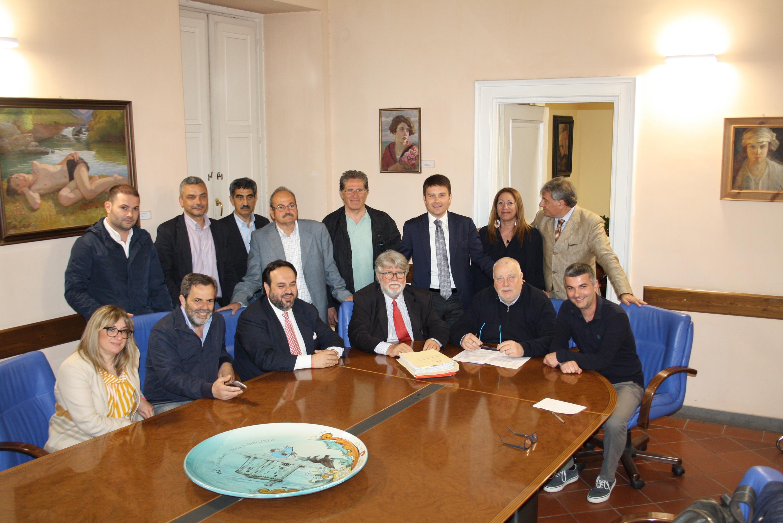 Provincia, protocollo d'intesa con sindaci per opere pubbliche nel Sannio