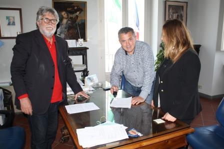 Il sindaco di Colle Sannita ha siglato protocollo d'intesa con la Provincia per interventi sulle strade