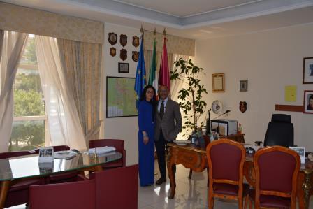 Il Questore di Benevento ha incontrato il Console della Repubblica di Tunisia