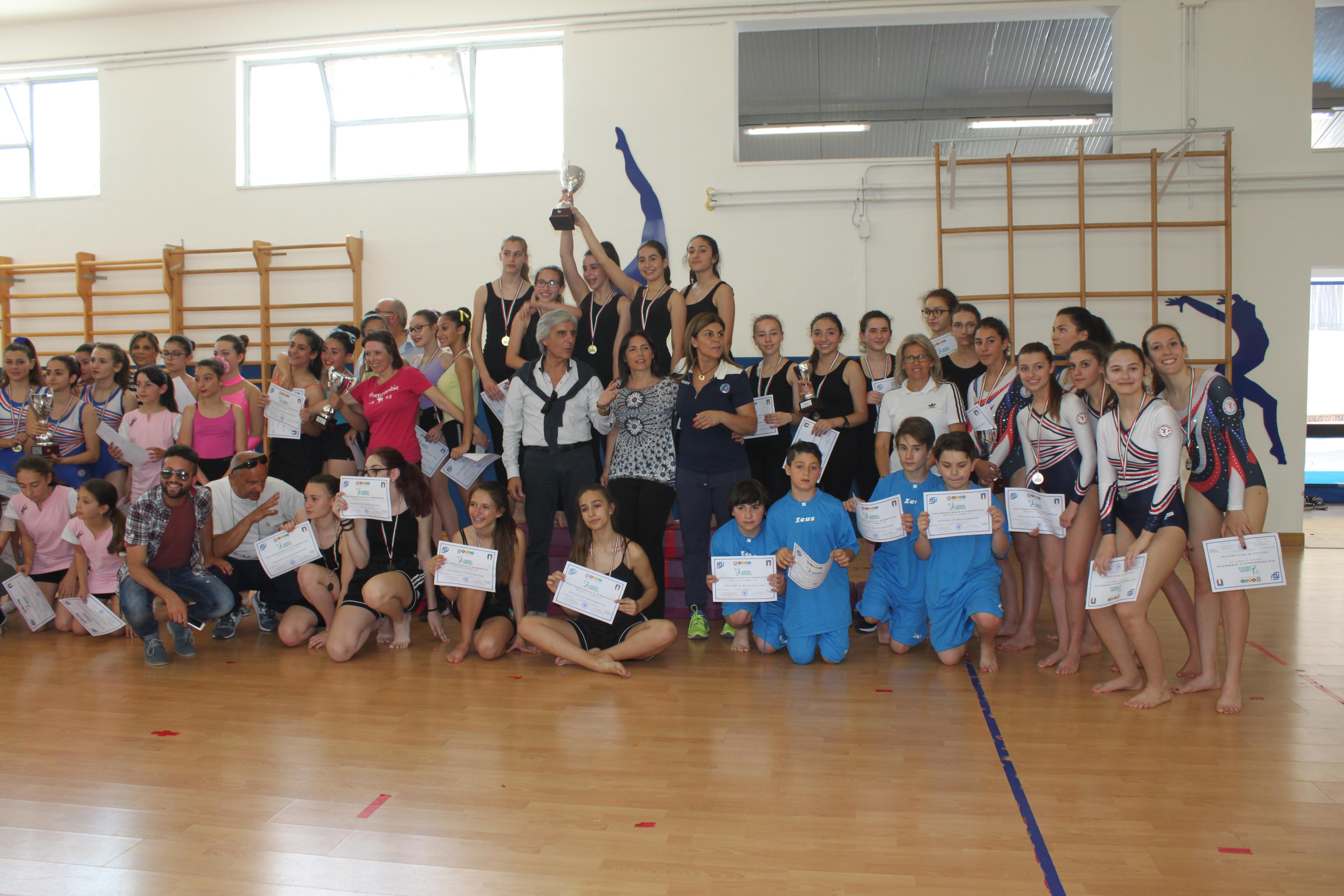 Chiusi Campionati Studenteschi di Ginnastica organizzati dall'Organismo Provinciale per lo Sport a Scuola