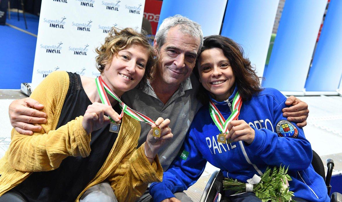 Campionati Italiani Assoluti di Scherma, argento per la Boscarelli. Pasquino due volte a un passo dall'oro