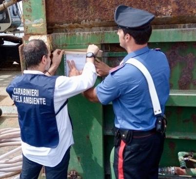 A Ceppaloni denunce per reati ambientali