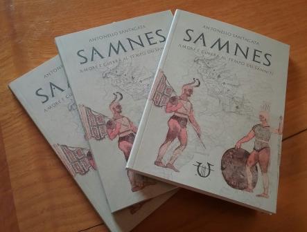 """""""Samnes. Amore e guerra al tempo dei Sanniti"""". Il nuovo libro di Antonello Santagata sarà presentato oggi a Cerreto Sannita"""