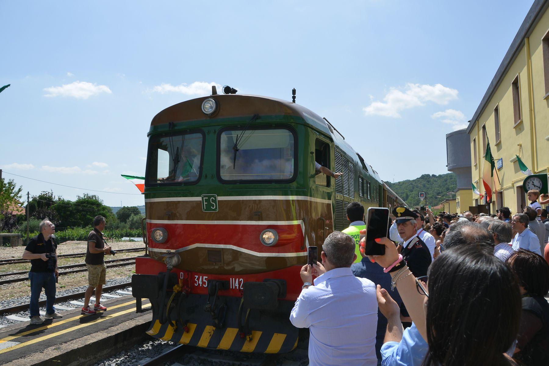Il Treno Storico 'Sannio Express' fa tappa a Morcone