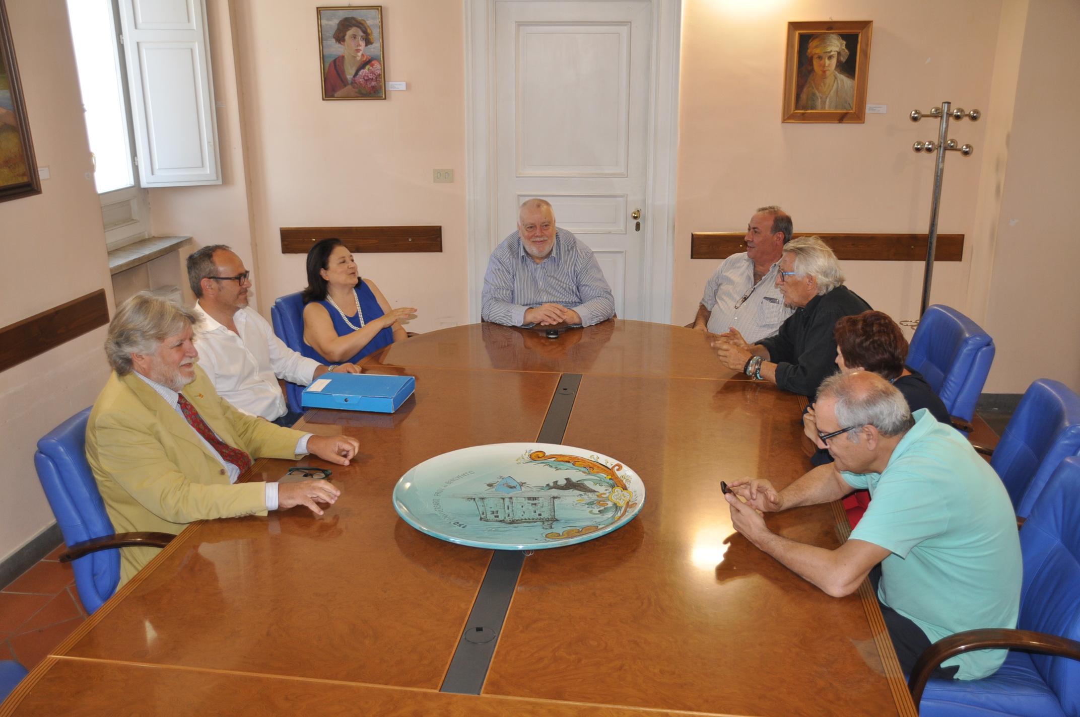 Ricci ha incontrato la direttrice dell'Arpac per discutere di tutela dell'ambiente