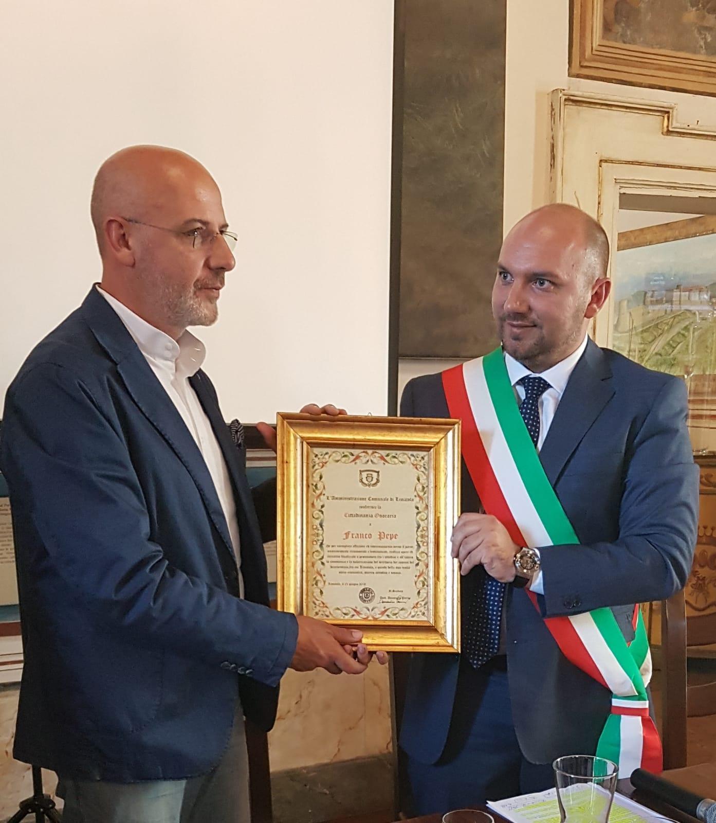 Franco Pepe miglior pizzaiolo al mondo, le congratulazioni del sindaco di Limatola