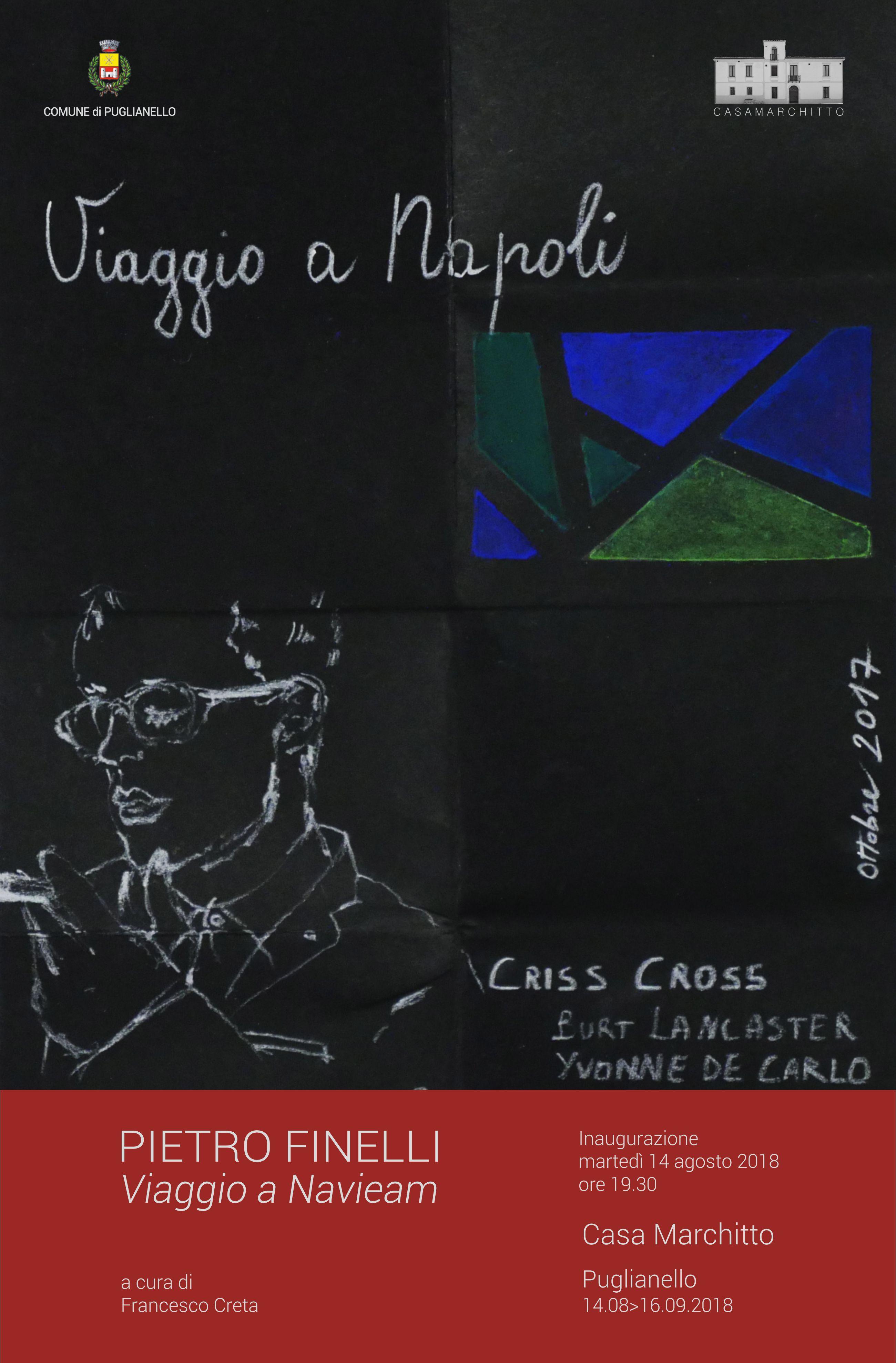 'Viaggio a Navieam', al via domani la mostra di Pietro Finelli a Puglianello