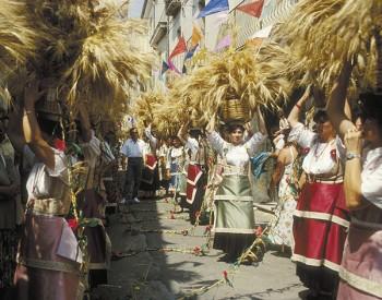Crollo del ponte Morandi, la solidarietà del vicesindaco alla regione che quest'anno è tema dei carri di grano