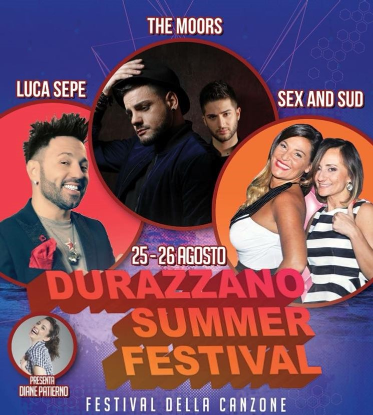 A Durazzano festival della musica per giovani emergenti. Ospiti Luca Sepe, The Moors e Sex & The Sud