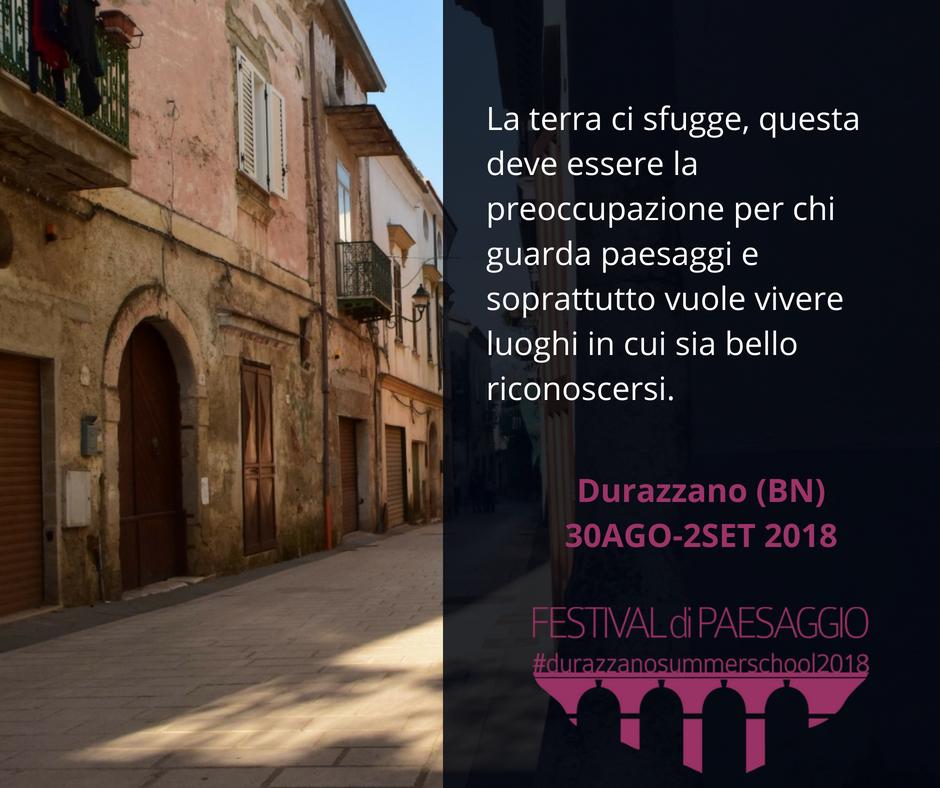 Con il Festival di Paesaggio, dal 30 agosto, Durazzano lancia la sfida per un futuro sostenibile